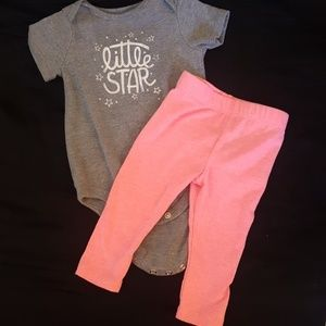 Cat & Jack Matching Sets - Baby girl outfit